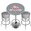Coors Light Game Room Combo - 2 Bar Stools and Table