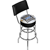 Ford Swivel Bar Stool with Back - Built Ford Tough