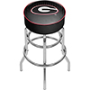 University of Georgia Padded Swivel Bar Stool - Reflection