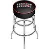 University of Georgia Padded Swivel Bar Stool - Smoke