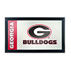 University of Georgia Framed Logo Mirror - Text