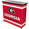 University of Georgia Portable Bar with Case