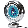 Charlotte Hornets NBA Chrome Retro Style Tabletop Neon Clock