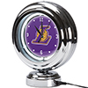 Los Angeles Lakers NBA Chrome Retro Style Tabletop Neon Clock