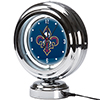 New Orleans Pelicans NBA Chrome Retro Style Tabletop Neon Clock