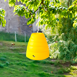 Pure Garden Beehive Wasp Trap Yellow