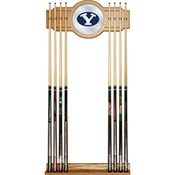 Brigham Young University Cue Rack with Mirror