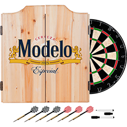 Modelo Dart Board Set with Cabinet