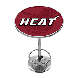 NBA Chrome Pub Table - Fade  - Miami Heat