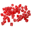 75 Red 16 mm Dice