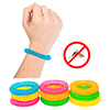 Mosquito Repellent Bracelets ? 10 Pack - All Natural Deet Free Adjustable Bands to Keep Insects and Bugs Away for Kids and Adults by Pure Garden