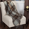 Lavish Home Cashmere-Like Blanket Throw - Brown