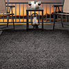 Lavish Home Outdoor/Indoor Shag Rug - Charcoal - 5'x7'7