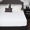 Bluestone Down Alternative Mattress Pad With Fitted Skirt-Queen