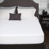 Bluestone Waterproof Mattress Pad With Expandable Fitted Skirt - Twin