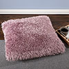 Oversized Floor or Throw Pillow Square Luxury Plush? Shag Faux Fur Glam D�cor Cushion for Bedroom Living Room or Dorm by Lavish Home (Lavender)