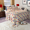 Lavish Home Cassandra Quilt 2 Piece Set - Twin