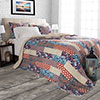 2 pc Quilt Set Cabin and Lodge Santa Fe by Lavish Home