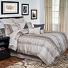 Lavish Home Gabriella 13 pc Oversized Embroidered Comforter Set Queen