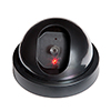 Everyday Home Imitation Security Dome Camera with Flashing LED Light