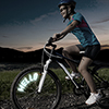 Bicycle Spoke Message LED Light - 5 Different Words