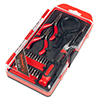 25 Piece Precision Tool and Bit Set ?Metric and SAE Measurement Electronics Repair Kit for Power Drills and Screwdrivers by Stalwart