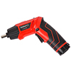 Stalwart 45 Pc 3.6V LED Rechargeable Pivoting Cordless Screwdriver Set