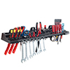 Multitool Organizer for Hand Tools, Automotive Tools, and Electric Tools, Wall Mounted Shelf
