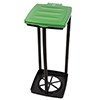 Wakeman Outdoors Portable Garbage Trash Bag Holder - GREEN