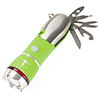 Multi Tool LED Flashlight, All In One Tool Light For Emergency, Camping and Cars By Stalwart (Green) (With Glass Breaker and Seatbelt Cutter)