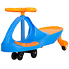 Ride on Toy, Ride on Wiggle Car by Lil? Rider ? Ride on Toys for Boys and Girls, 2 Year Old And Up, (Blue and Orange)