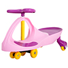 Wiggle Car- Ride On Toy- No Batteries, Gears or Pedals-Twist, Swivel & Go-Outdoor Play for Boys & Girls 3 Years Old & Up by Lil? Rider (Pink & Purple)