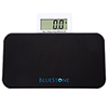 Travel Bathroom Digital Body Scale With Pop Out Display ? Tempered Glass  Electronic LCD Screen, Battery Powered, LBs and Kilos by Bluestone