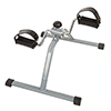 Portable Under Desk Stationary Fitness Machine- Indoor Exercise Pedal Machine Bike for Arms, Legs, Physical Therapy or Calorie Burn by Wakeman Fitness