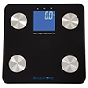 Bluestone Digital Body Fat Scale with Large LCD Display - Black