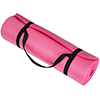 Extra Thick Yoga Mat- Non Slip Comfort Foam, Durable Exercise Mat For Fitness, Pilates and Workout With Carrying Strap By Wakeman Fitness (Pink)
