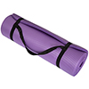 Extra Thick Yoga Mat- Non Slip Comfort Foam, Durable Exercise Mat For Fitness, Pilates and Workout With Carrying Strap By Wakeman Fitness (Purple)