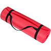 Extra Thick Yoga Mat- Non Slip Comfort Foam, Durable Exercise Mat For Fitness, Pilates and Workout With Carrying Strap By Wakeman Fitness (Red)