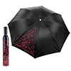 Trademark Home Wine Bottle Umbrella - Red & Black