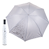 Trademark Home Wine Bottle Umbrella - White & Silver