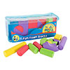 Kids Foam Building Blocks ? Stacking Toys for Children Nontoxic EVA Shapes Creative Design Quiet Time Play Educational Sensory Toy by Hey! Play!