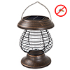 2 in 1 Ultraviolet Mosquito Killer Bug Zapper and LED Tent or Patio Lantern ? Portable, Rechargeable Solar Powered Nontoxic Light by Wakeman Outdoors