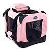 PETMAKER Portable Soft Sided Pet Crate-16x12 inches-Pink