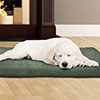 PETMAKER 3 inch Foam Pet Bed-27x36 inches-Forest