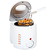 Classic Cuisine Cool Touch 1 Liter Deep Fryer with Wire Fry Basket