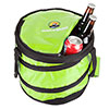 Pop-up Cooler, Collapsible with Leakproof Lining- Holds 28 Cans By Wakeman Outdoors (Lime)