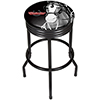 Budweiser Black Ribbed Bar Stool - Clydesdale Black