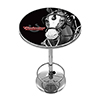 Budweiser Chrome Pub Table - Clydesdale Black