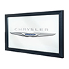Chrysler Framed Logo Mirror