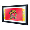 Maryland University Framed Logo Mirror